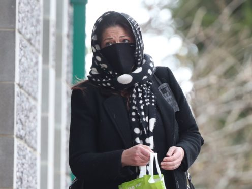 Nicole Elkabbas arriving at Canterbury Crown Court where she was jailed after conning kind-hearted members of the public out of thousands of pounds by pretending to have ovarian cancer (Gareth Fuller/PA)