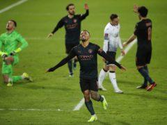 Gabriel Jesus celebrates his goal (Nick Potts/PA)