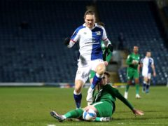 Sam Gallagher is out for Blackburn (Martin Rickett/PA)