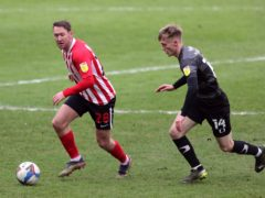 Aiden McGeady, left, set up all four goals (Richard Sellers/PA)