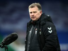 Mark Robins felt his side deserved to win (Nick Potts/PA)