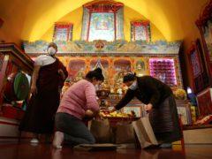 The temple in New York (Jessie Wardarski/AP)