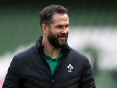 Andy Farrell is preparing Ireland to face Italy in Rome (Brian Lawless/PA)
