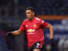 Anthony Martial received abuse on social media after Sunday's draw at West Brom (Naomi Baker/PA)
