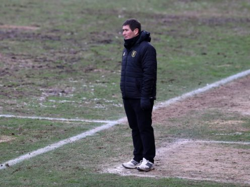 Mansfield manager Nigel Clough was disappointed not to take all three points at Colchester (Gareth Fuller/PA)