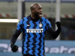 Romelu Lukaku's brace helped take Inter Milan top (Luca Bruno/AP)