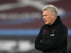 West Ham manager David Moyes (Glyn Kirk/PA)