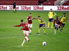 Ashley Fletcher netted Middlesbrough's winner just before the break (Tim Goode/PA)