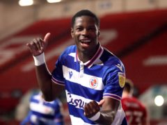 Lucas Joao, pictured, toasts his goals against Bristol City (David Davies/PA)