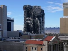 The former Trump Plaza casino is imploded (Seth Wenig/AP)