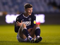 Jake Cooper suffered his second dislocated shoulder of the season (John Walton/PA)
