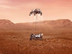 Nasa's Mars Perseverance rover lands on the red planet (NASA/JPL-Caltech)