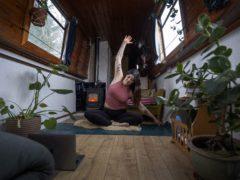 Yoga teacher Harriet McAtee has lived in the UK for five years (Victoria Jones/PA)