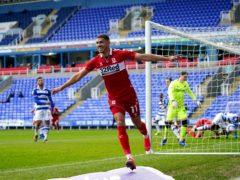 Ashley Fletcher opened the scoring for Middlesbrough (John Walton/PA)