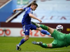 Harvey Barnes is expected to return for Leicester. (Tim Keeton/PA)