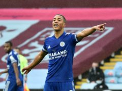 Leicester's Youri Tielemans helped the Foxes to victory at Aston Villa (Rui Vieira/PA)