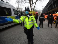 The final anti-HS2 activist in a network of tunnels in London's Euston Square Gardens has been removed (Victoria Jones/PA)