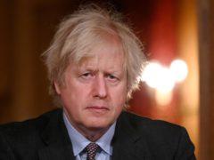 Boris Johnson (Leon Neal/PA)