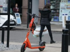 Northumbria Police said six people riding e-scooters in Newcastle have been charged with drink-driving offences (Owen Humphreys/PA)