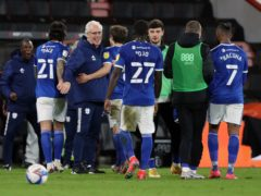 Mick McCarthy believes other sides will now be looking to beat Cardiff (Andrew Matthews/PA)