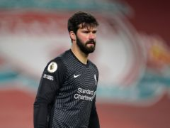 The father of Liverpool goalkeeper Alisson Becker died in Brazil on Wednesday (Jon Super/PA)
