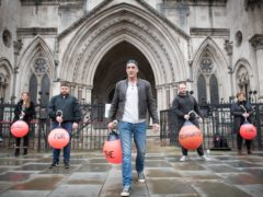 Scott Birtwistle (second right) who was sentenced to 14 years' detention and Daniel Payne (centre), who was jailed for 18 years (Stefan Rousseau/PA)