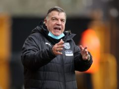 Sam Allardyce is angry that West Brom's home game against Everton will be played next Thursday (Carl Recine/PA)