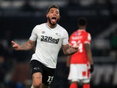 Colin Kazim-Richards scored a late equaliser for Derby (Mike Egerton/PA)