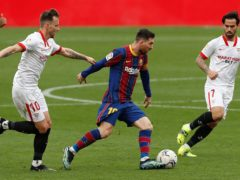 Ronald Koeman enjoys Barcelona's dominance of possession (Angel Fernandez/AP)