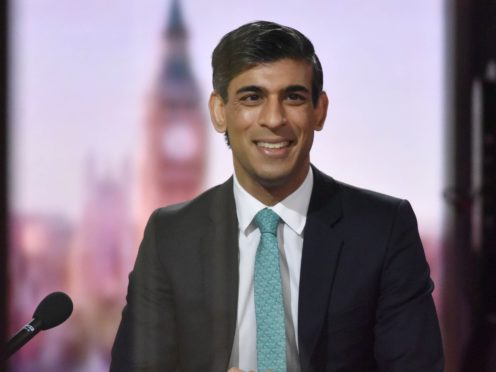 Chancellor Rishi Sunak on The Andrew Marr Show (Jeff Overs/BBC/PA)
