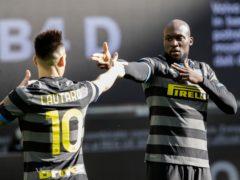 Romalu Lukaku scored after just 32 seconds as Inter Milan beat Genoa 3-0 (Luca Bruno/AP)