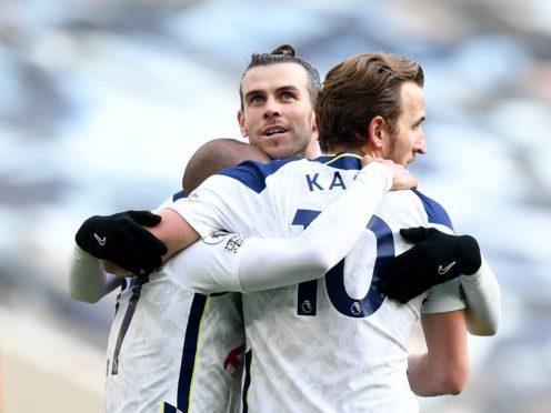 Gareth Bale inspired Tottenham to three points against Burnley (Daniel Leal Olivas/PA)