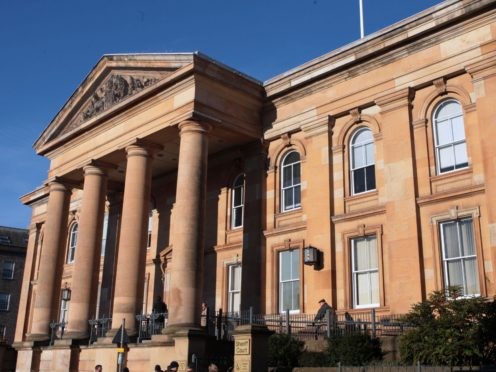 Bowes-Lyon is due to be sentenced in Dundee Sheriff Court (David Cheskin/PA)
