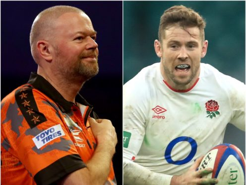 Raymond van Barneveld returned to the winner's circle and Elliot Daly reached a milestone for England (Bradley Collyer/Adam Davy/PA)