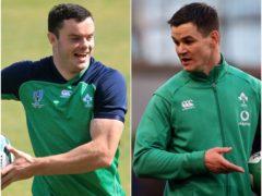 Ireland skipper Johnny Sexton and vice-captain James Ryan (Adam Davy/Brian Lawless/PA)