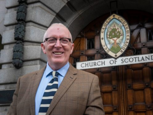 The Moderator of the Church of Scotland said he had a particular interest in mental health (Church of Scotland/PA)