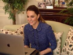 The Duchess of Cambridge has praised teachers during a video call (Kensington Palace/PA)
