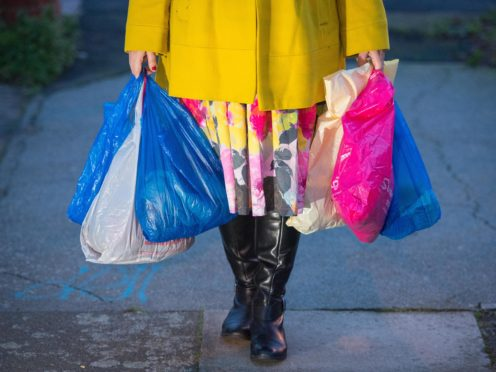 Holyrood's Environment Committee backed plans to increase the cost of single-use carrier bags to 10p (Dominic Lipinski/PA)