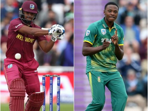 Nicholas Pooran and Kagiso Rabada have been snapped up by the Manchester Originals (Tim Goode/Scott Heavey/PA)