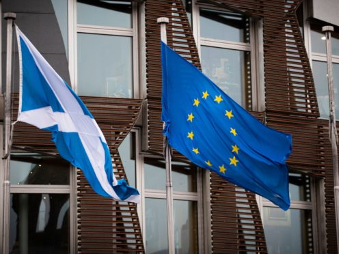The consequences of Brexit could be felt for decades to come, MSPs were warned (Jane Barlow/PA)