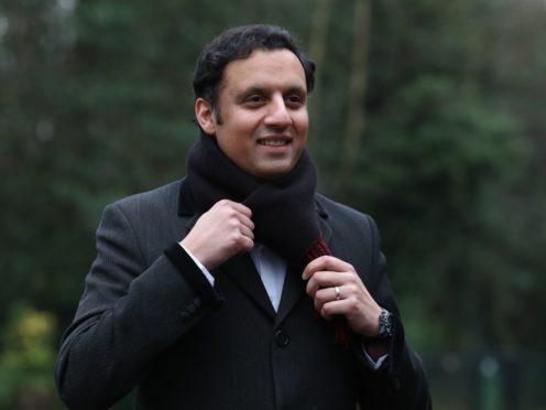 Scottish Labour leadership hopeful Anas Sarwar (Andrew Milligan/PA)