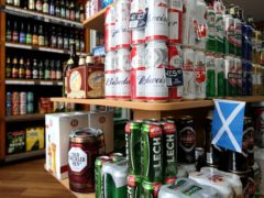 Alcohol Focus Scotland wants to see the level of minimum unit pricing reviewed (Jane Barlow/PA)