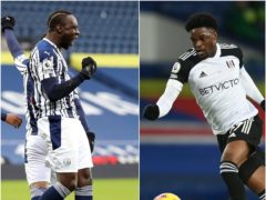 Mbaye Diagne, left, and Josh Maja have taken quickly to Premier League life (Naomi Baker/Michael Regan/PA)