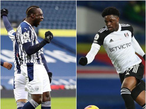 Mbaye Diagne, left, and Josh Maja have taken quickly to Premier League life (Naomi Baker/Michael Regan/PA)