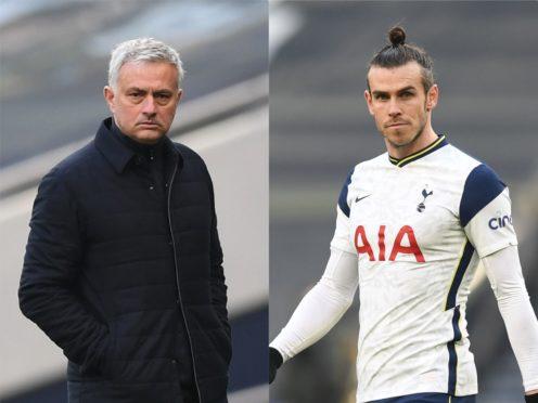 Jose Mourinho was impressed by Gareth Bale's display on Sunday (Daniel Leal Olivas/PA)