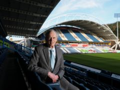 Ken Davy in the stands at Huddersfield (Alex Whitehead/SWpix.com/PA)