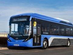 More than £40 million has been awarded to help bus companies replace diesel vehicles with electric versions (Transport Scotland/PA)