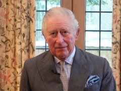 The Prince of Wales delivering his message to hoteliers (Master InnHolders/PA)