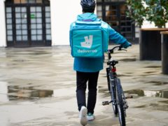 Deliveroo has picked London for its potential stock market float (Deliveroo/PA)
