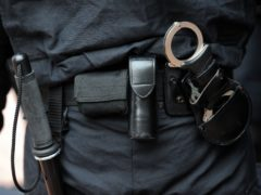 A police officer's equipment (Anthony Devlin/PA)